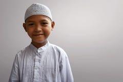 Niño musulmán asiático Foto de archivo