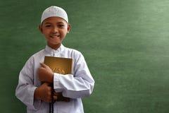 Niño musulmán asiático Fotos de archivo