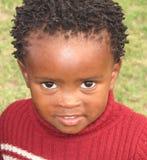 Niño negro Foto de archivo libre de regalías