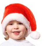 Niño pequeño aislado en el fondo blanco Foto de archivo libre de regalías