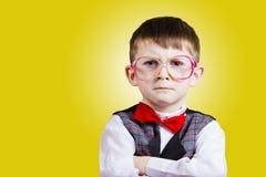 Niño pequeño confidente Imágenes de archivo libres de regalías