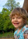 Niño pequeño de la sonrisa Fotografía de archivo libre de regalías