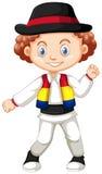 Niño pequeño de Rumania libre illustration