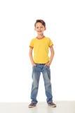 Niño pequeño divertido Imagen de archivo