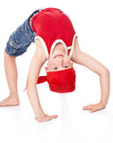 Niño pequeño en danza Imagen de archivo