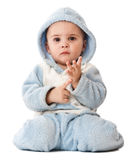 Niño pequeño encantador Foto de archivo