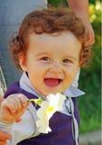 Niño pequeño feliz Imagen de archivo
