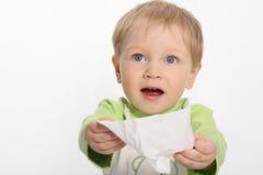 Niño pequeño hermoso Foto de archivo libre de regalías