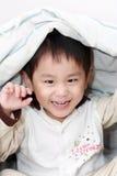 Niño pequeño juguetón Imagen de archivo