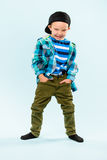 Niño pequeño juguetón Imagen de archivo libre de regalías