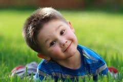 Niño pequeño lindo Imagen de archivo