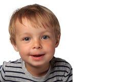 Niño pequeño lindo Fotos de archivo