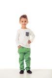 Niño pequeño lindo Fotografía de archivo libre de regalías