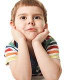 Niño pequeño sonriente Fotografía de archivo
