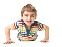 Niño pequeño sonriente Fotografía de archivo libre de regalías