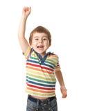 Niño pequeño sonriente Fotos de archivo