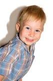 Niño pequeño sonriente Foto de archivo