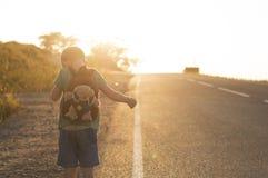 Niño perdido Imagen de archivo libre de regalías