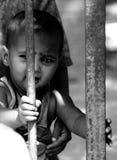 niño por completo de emociones Fotos de archivo