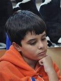 Niño preocupante Fotografía de archivo libre de regalías