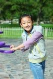 Niño que juega al juego Foto de archivo libre de regalías