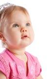 Niño que mira para arriba Imagen de archivo