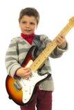 Muchacho de la guitarra Imagen de archivo
