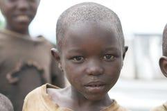 Niño ruandés Foto de archivo