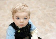 Niño rubio Foto de archivo libre de regalías