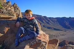 Niño salvaje Fotografía de archivo