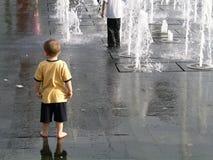 Niño solo Foto de archivo