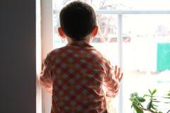 Niño solo Fotografía de archivo