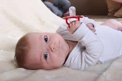 Niño solo Foto de archivo libre de regalías