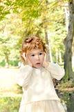 Niño sorprendido Foto de archivo libre de regalías