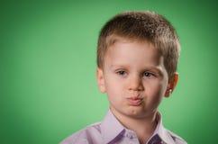 Niño trastornado Fotografía de archivo libre de regalías
