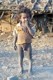 Niño tribal Fotografía de archivo libre de regalías