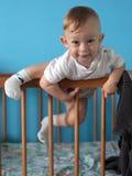 Niño valiente Foto de archivo