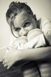 Niño vulnerable Imagen de archivo libre de regalías