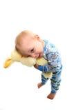 Niño y juguete Fotos de archivo libres de regalías