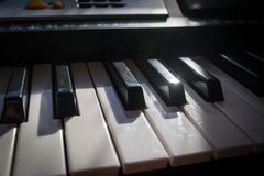 Niño y música Imágenes de archivo libres de regalías