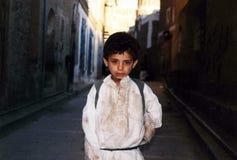 Niño yemení Foto de archivo