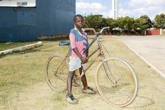 Niño zambiano Foto de archivo libre de regalías