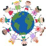 Niños étnicos mezclados Fotos de archivo libres de regalías