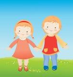 Niños libre illustration