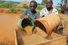 Niños africanos Imágenes de archivo libres de regalías
