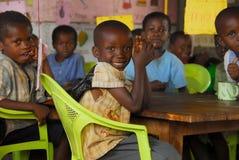 Niños africanos Foto de archivo