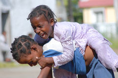 Niños africanos Imagen de archivo libre de regalías