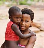 Niños africanos Fotografía de archivo