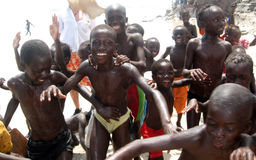 Niños africanos Fotos de archivo