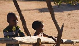 Niños africanos Fotografía de archivo libre de regalías